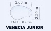 Piscina Coinpol Venecia Junior